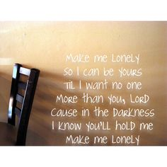 Sidewalk Prophets, Keep Making Me Lyrics