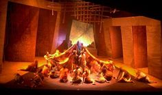 Dicapria Theatre Designer & Producer has some really cool, really artistic set renderings and such check it out!