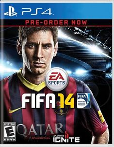 FIFA Soccer 14 [Android, iOS,Nintendo 3Ds, PlayStation, Wii, Xbox 360 and Xbox One] featuring on the cover, Lionel Messi