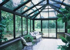 All Glass Sunroom . All Glass Sunroom . Lowes Polycarbonate Panels for Sunroom Victorian Conservatory, Conservatory Design, Sunroom Windows, Dentil Moulding, Polycarbonate Panels, Glass Roof, Pool Landscaping, Glass House, Winter Garden