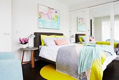 Rebecca Judd's perfect guest room, for perfect guests. Image: Armelle Habib.
