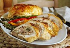 Our fabulous stuffed chicken recipe is perfect for entertaining. If you want a tasty stuffed chicken or apricot chicken recipe this is it. Yummy Chicken Recipes, Yum Yum Chicken, Meat Recipes, Appetizer Recipes, Healthy Recipes, Smoked Salmon Appetizer, Smoked Salmon Recipes, Boneless Chicken Breast, Mushrooms