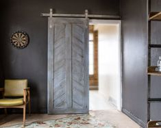 Heavy Duty Industrial Sliding Barn Door Closet Hardware intended for dimensions 1500 X 1000 Industrial Barn Door Rollers - Please note order if you would Sliding Door Design, Sliding Barn Door Hardware, Sliding Doors, Sliding Wall, The Doors, Wood Doors, Home Design, Interior Design, Design Ideas