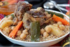couscous berbere, couscous à la semoule d'orge