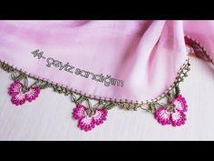 44- ÇİÇEKLİ TIĞ OYASI YAPIMI - YouTube Crochet Tote, Crochet Gifts, Filet Crochet, Crochet Projects, Craft Projects, Backpack Tutorial, Crochet Humor, Crochet Borders, Needle Lace