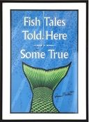 Art Gallery at Maine Cottage | Fish Tails