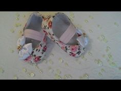Zapato reversible DIY en tela para bebé + patron PDF GRATIS - YouTube