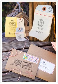 YES! #rustic #Sonoma #wedding #invites