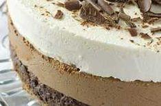 Sütés nélkül készül ez a háromcsokis álomtorta