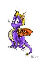 Fan art of Spyro! He's so awfully cute, don't you think? I played the first two of this game, (Spyro the Dragon and Ripto's Rage) back wh. That Darned Cute Dragon Professional Learning Communities, Spyro The Dragon, Cute Dragons, Darning, Disney Characters, Fictional Characters, Fan Art, Deviantart, Fantasy Characters