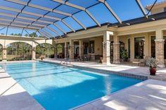 Luxury real estate in Jupiter FL United States - Jupiter Equestrian Estate - JamesEdition Luxury Swimming Pools, Luxury Pools, Indoor Swimming Pools, Swimming Pools Backyard, Dream Pools, Swimming Pool Designs, Lap Pools, Pool Decks, Pool Landscaping