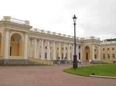 Alexander Palace at Tsarskoye Selo