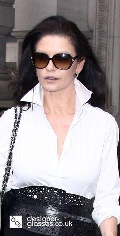 96a38c250ce Catherine Zeta-Jones wearing Gucci Sunglasses. Style Magazine · Celebrity  Sunglasses