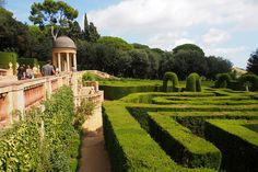 "Parc del Laberint d'Horta - ""Fee ist mein Name"""