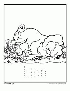 Zoo Animal Coloring Pages Zoo Babies Planning a trip to the zoo