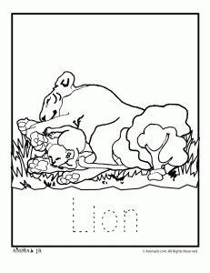 Zoo Animal Coloring Pages: Zoo Babies zoo-babies-elephant