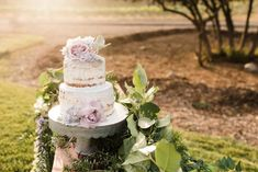 From the blush and lilac palette to the long, banquet-style dinner tables, everything about this romantic vinery wedding in San Diego, California is perfection! Vineyard Wedding, Lilac, Wedding Inspiration, Flower Girl Dresses, Romantic, Wedding Dresses, Cake, Style, Bride Dresses
