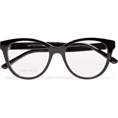 b41588e46e7 Jimmy Choo Acetate optical glasses ( 375) ❤ liked on Polyvore featuring  accessories