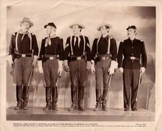 Here is a classic photo with three of my favorite STARS from the west. All of these actors worked for John Ford a lot. From left to right - John Wayne, Harry Carey Jr., and Ben Johnson.