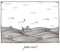 Mucho viento 11  ¿Adónde vamos?  Final de Mucho viento