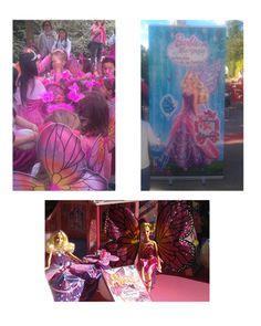 """""""Barbie Mariposa y la princesa de las hadas"""" ya está en DVD y lo celebró con una fiesta Barbie en Faunia. ¡Las niñas se convirtieron en hadas por un día! https://www.facebook.com/photo.php?fbid=10153372605355651&set=a.10150270710630651.473526.128991155650&type=1"""