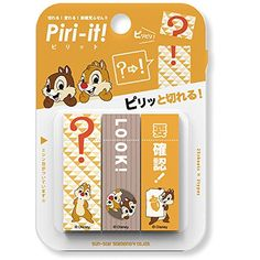 "Disney Chip & Dale Sticky Note Post it ""Piri-it!"" 75 shee..."