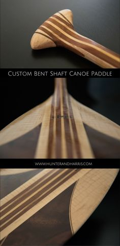 This custom bent shaft canoe paddle is ready for the red carpet. With its rich mix of special claro walnut and flame maple, this paddle is one of a kind. Canoe Paddles, Wood Boats, Canoes, Red Carpet, Accessories, Wooden Boats, Canoeing, Jewelry Accessories