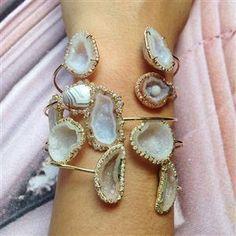 kimberly mcdonald geode bracelets
