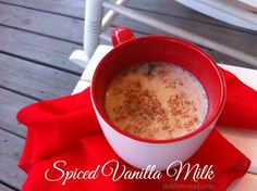 Spiced Vanilla Milk (I drink this when I need help falling asleep so I can get a good night's rest!) - RichlyRooted.com