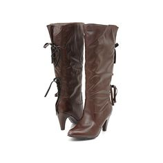 Back Tie Up Slouchy boots.  Why is it so hard to find boots for short legs and or wide legs?  Urg.
