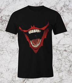 NEW T-SHIRT BATMAN JOKER LAUGH  #Unbranded #PersonalizedTee
