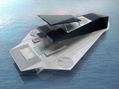 Origami Yacht by Fabio Federici
