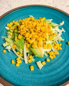 Corn Salads, Dishes, Food, Plate, Essen, Utensils, Yemek, Meals