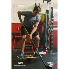 McDavid works just as hard off the ice as he does on it. BioSteel products help him achieve more and recover quicker #DrinkThePink™.