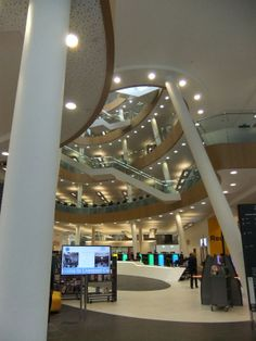 Liverpool Central Library (UK)