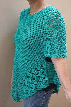 Crochet Poncho Top Pattern Poncho Top Pattern Crochet Poncho