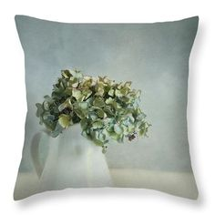 """Blues Throw Pillow by Priska Wettstein. Our throw pillows are made from 100% spun polyester poplin fabric and add a stylish statement to any room. Pillows are available in sizes from 14"""" x 14"""" up to 26"""" x 26"""". Each pillow is printed on both sides (same image) and includes a concealed zipper and removable insert (if selected) for easy cleaning."""