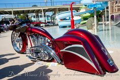 Custom Bagger at Rat's Hole Bike Show by Dream Weaver Photography, via Flickr