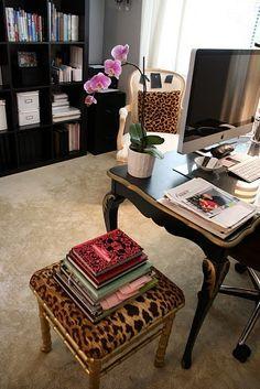 дневник дизайнера: Стиль гламур в интерьере домашнего кабинета. 60 картинок для…