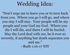 Ruth 1 16 17 Marriage Step Three Niv