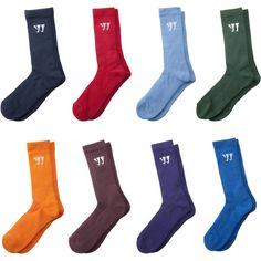 Warrior Performance Team Color Lacrosse Crew Socks
