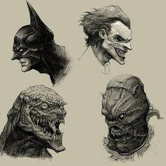 Batman concept.