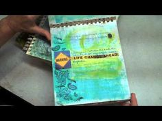 Art Journaling How to #1