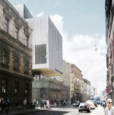 Multiplan Arhitekti Wins Competition for New Gallery in Zagreb #concept #publiek #ruimteschakeling #materialisatie #gevel