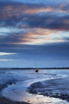 Low Tide ( Taken at Mudeford Dorset )