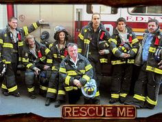 Rescue Me - amazing show about NY firefighters struggling with the aftermath of 9/11.
