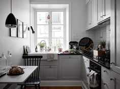 Small kitchen.