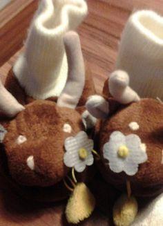 À vendre sur #vintedfrance ! http://www.vinted.fr/mode-enfants/chaussons/43849014-chaussons-chaussettes-petites-vaches-rigolotes-taille-2021