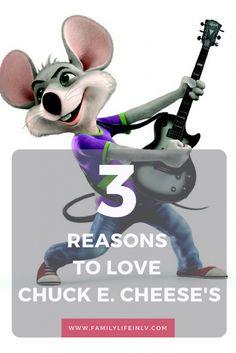 3 Reasons To Love Chuck E. Cheese's