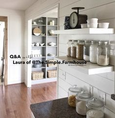 Q&A with Laura of @The.Simple.Farmhouse on My 100 Year Old Home Blog